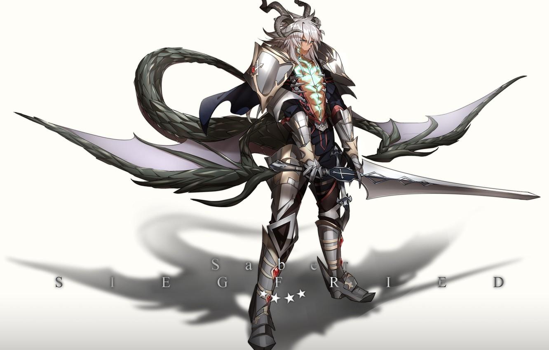 Photo wallpaper anime, art, guy, fate/grand order, Berserker