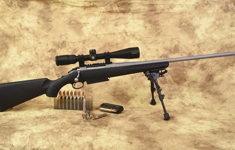 Photo wallpaper Ruger, caliber 300, American Rifle Magnum