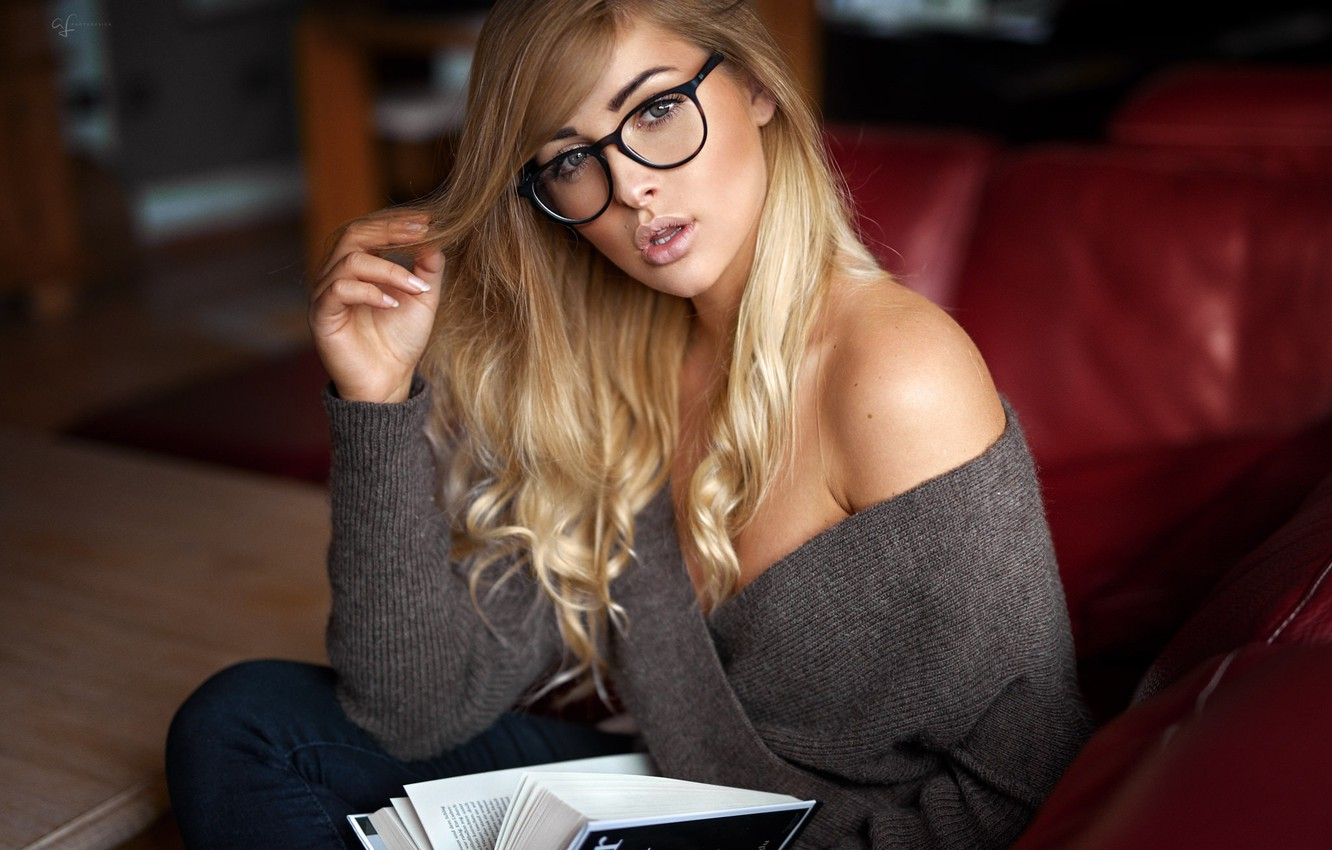 sexy girl with glasses