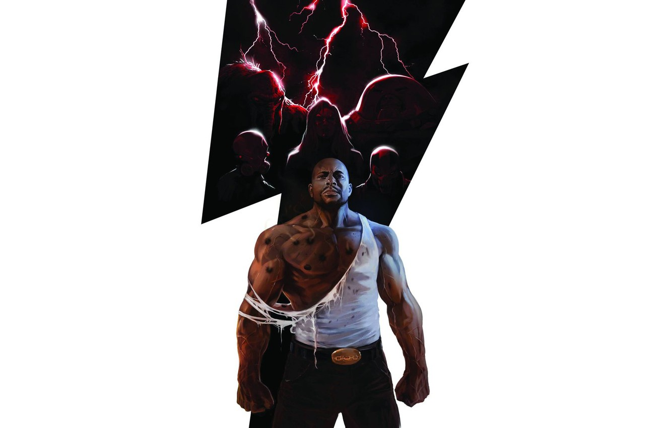 Photo wallpaper Ghost, Marvel Comics, Juggernaut, Skull and bones, Luke Cage, Goblin, Thunderbolts, Moonstone
