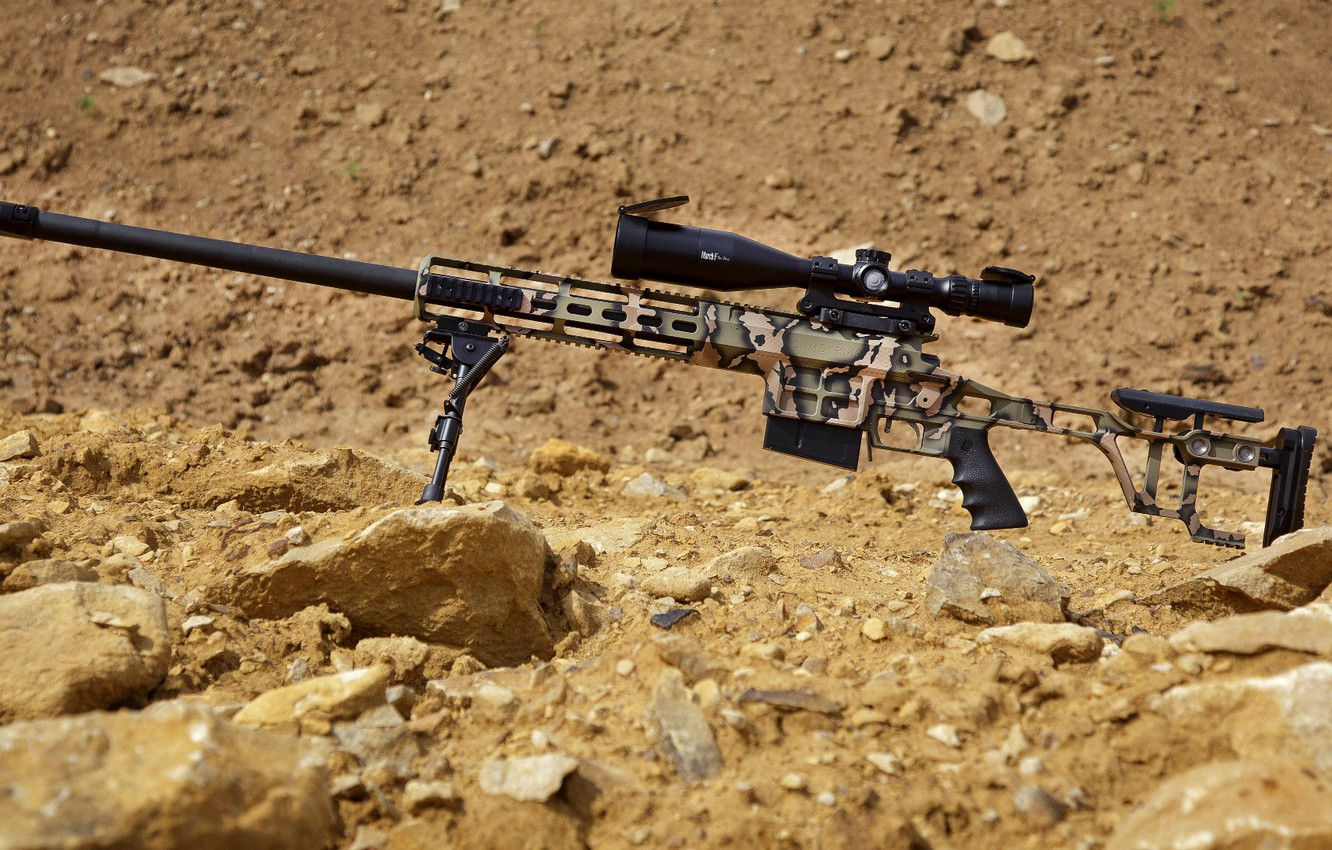Photo wallpaper weapons, weapon, custom, sniper rifle, sniper rifle, Lobaev arms, Lobaev arms