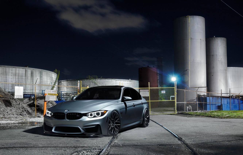 Photo wallpaper BMW, Light, Silver, F80, Sight, LED