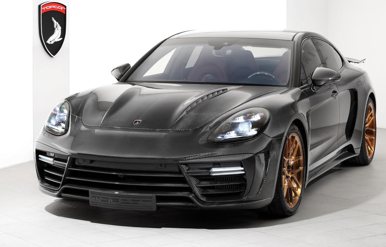 Photo wallpaper Porsche, Panamera, GTR, 2018, Stingray, Ball Wed, Carbon Edition