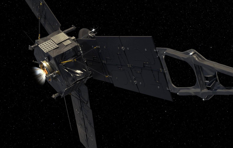 Photo wallpaper space, satellite, outdoor, Juno