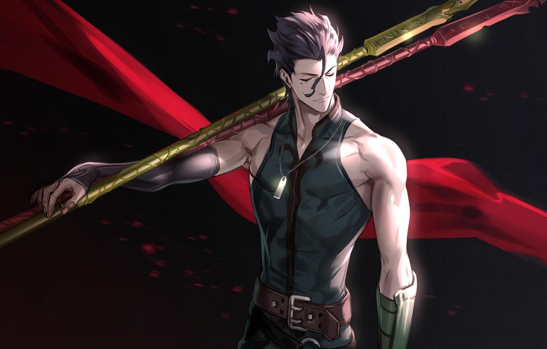 Wallpaper Anime Art Fate Stay Night Lancer Fate Zero Fate