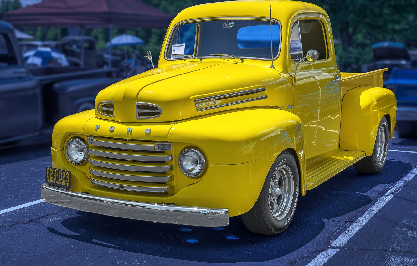 Photo wallpaper 1950, FORD