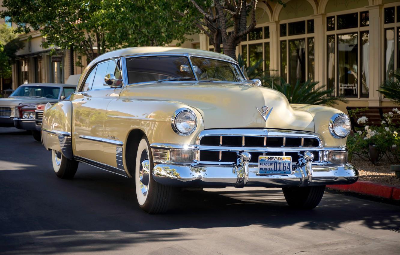 Photo wallpaper retro, Cadillac, classic, 1949, Series 62