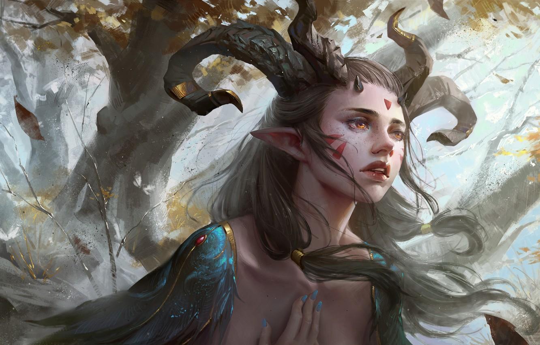 Elven Ruins Fantasy Art