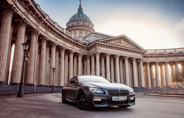 Photo wallpaper car, machine, auto, bridge, city, fog, race, bmw, BMW, car, sports car, car, need for …