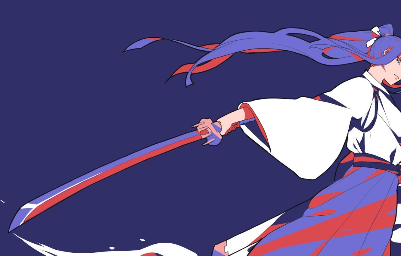 Wallpaper Blood Katana Blade Japanese Clothing Evil Eye Kill