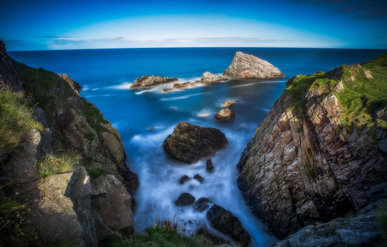 Photo wallpaper coast, Scotland, Scotland, Portknockie