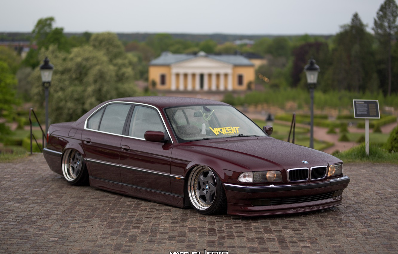 Wallpaper Car Bmw Bmw Tuning E38 Stance 7 Series E38 Images For Desktop Section Bmw Download
