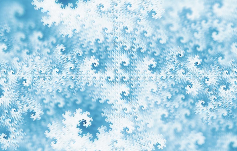 Photo wallpaper winter, pattern, texture, art, fractal, Jan Jämsén, Fractal artworks 2017