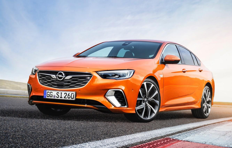 Photo wallpaper Insignia, Opel, sedan, 2018, GSi