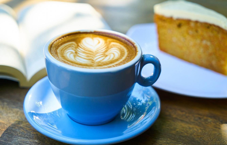 Wallpaper Coffee Breakfast Plate Pie Cup Book Foam Images For Desktop Section Eda Download