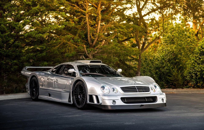 Photo wallpaper Mercedes-Benz, GTR, AMG, Coupe, CLK