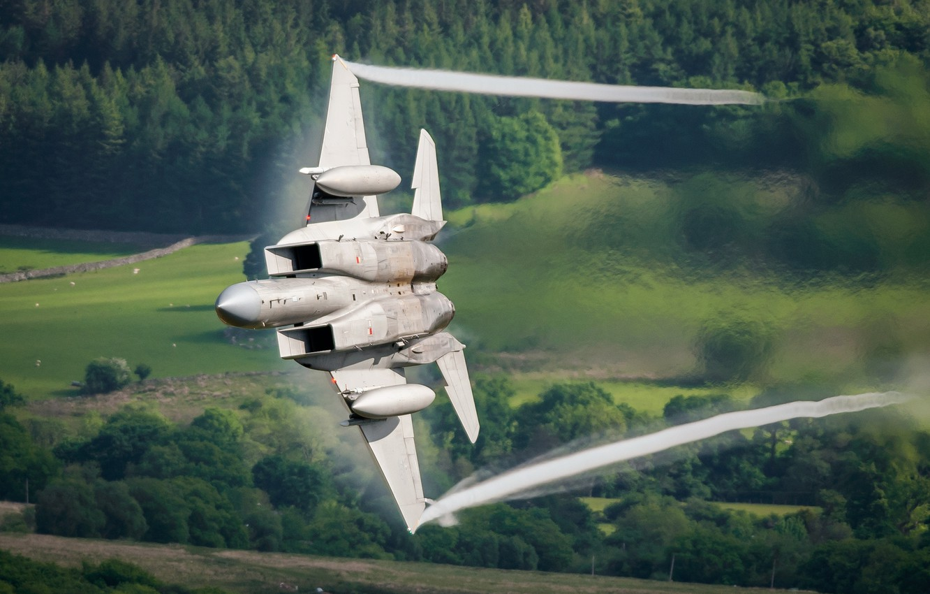 Photo wallpaper weapons, the plane, F15C