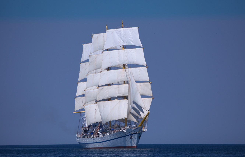Photo wallpaper sailboat, the black sea, Hersonissos
