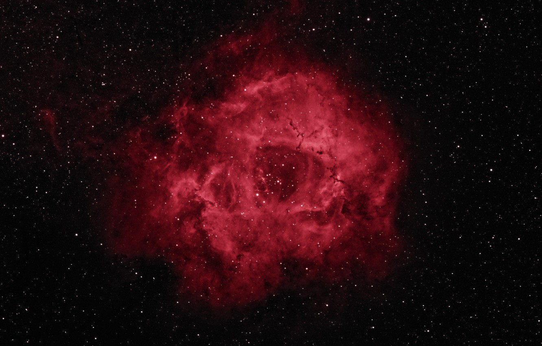 Photo wallpaper space, stars, beauty, Rosette Nebula