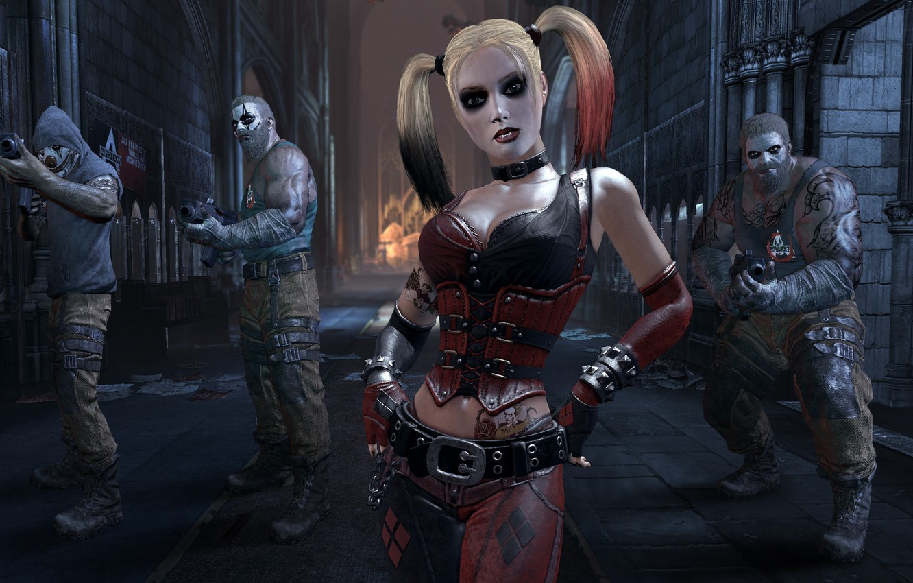 Photo wallpaper pose, weapons, the game, makeup, figure, tattoo, game