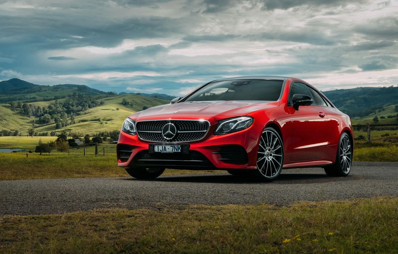 Photo wallpaper coupe, Mercedes-Benz, E-class, Mercedes, AMG, Coupe, C238