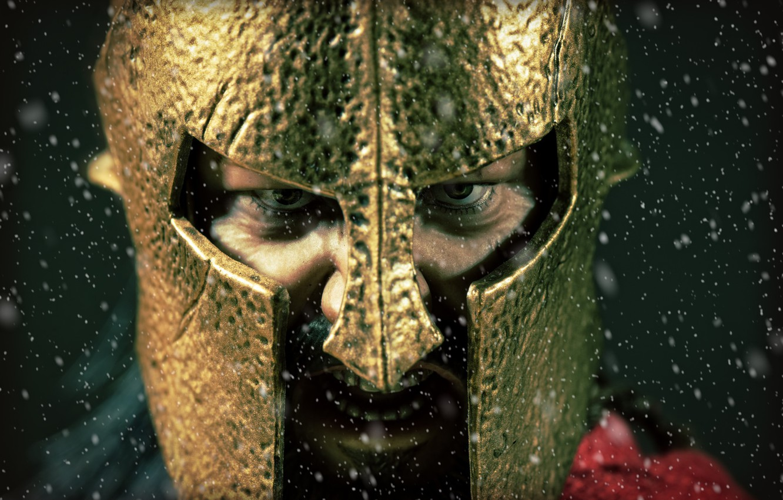 Wallpaper Look Toy Helmet Figurine Leonidas Spartan