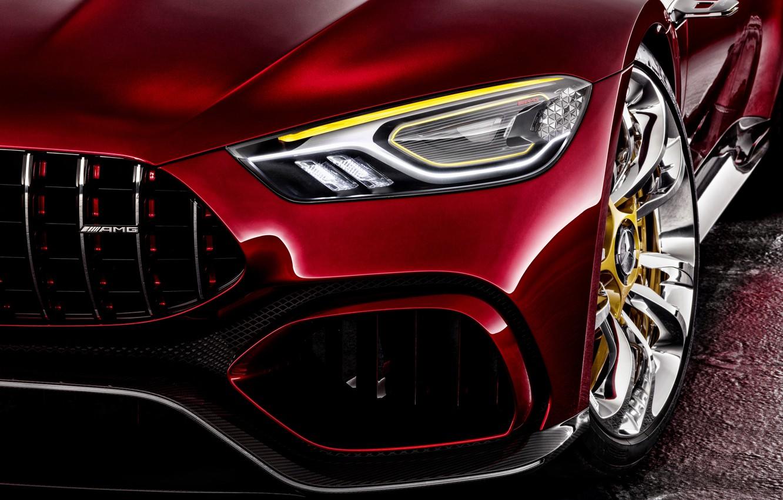 Photo wallpaper Concept, face, the concept, Mercedes, Mercedes, GT-Class