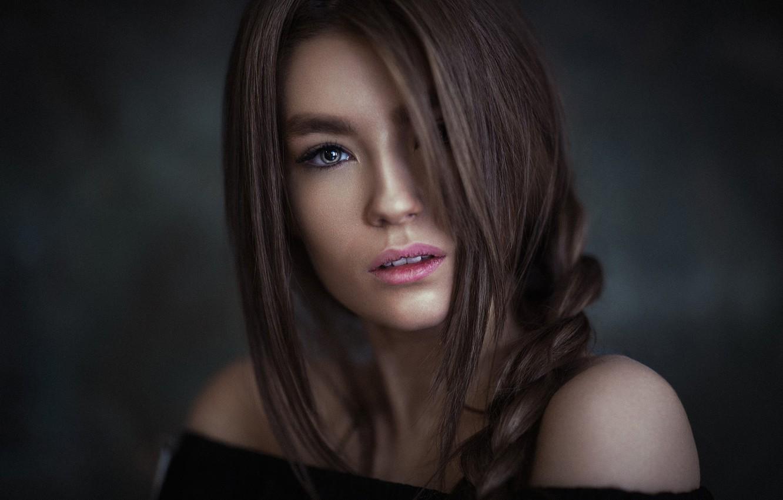 Photo wallpaper look, portrait, makeup, hairstyle, brown hair, beauty, photoshoot, pigtail, bokeh, Falak Ali