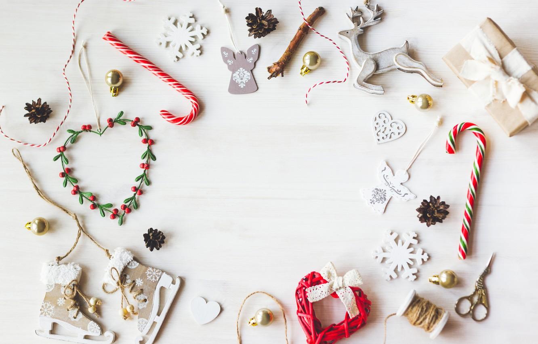 Photo wallpaper New Year, Christmas, white, vintage, merry christmas, decoration, xmas