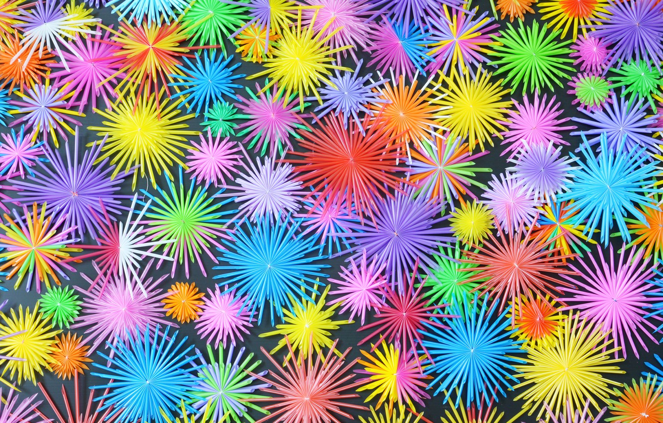 Wallpaper Stars Snowflakes Background Paint Bright