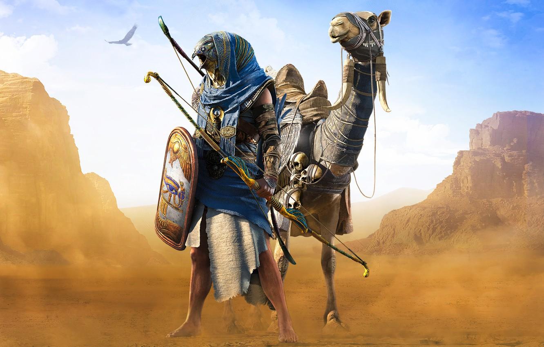 Wallpaper Origins Ubisoft Assassin S Creed Dlc Horus