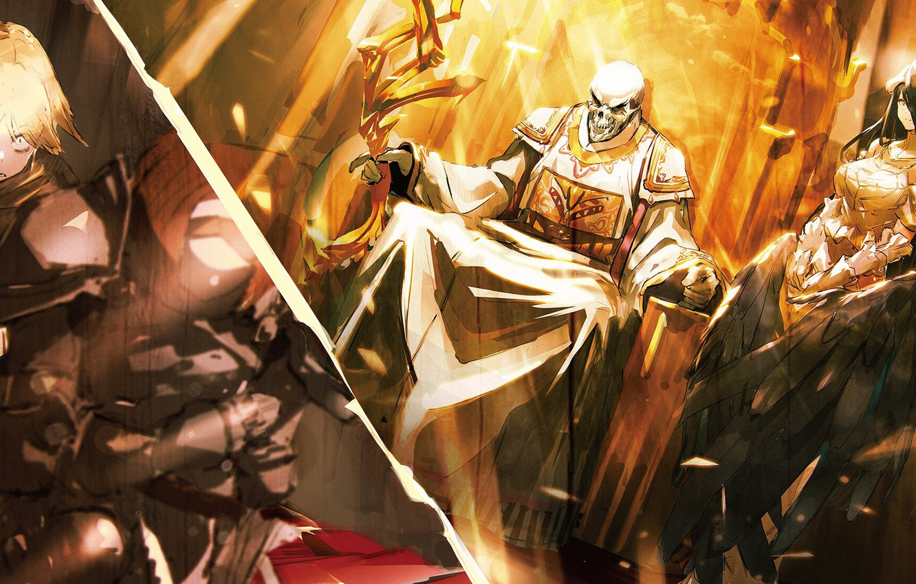 Wallpaper Anime Overlord The Lord Characters Images For Desktop Section Syonen Download