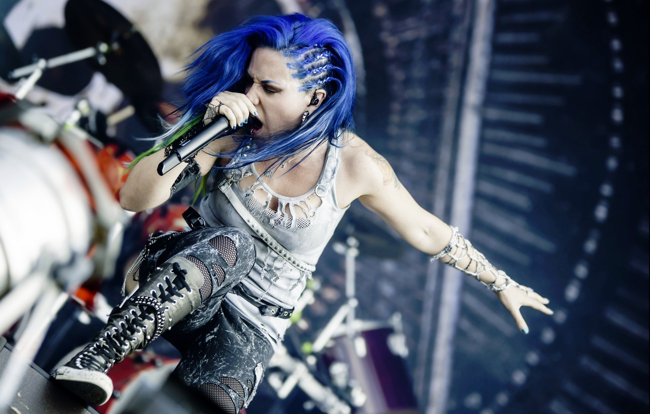 Wallpaper Singer Arch Enemy Alissa White Gluz Images For Desktop