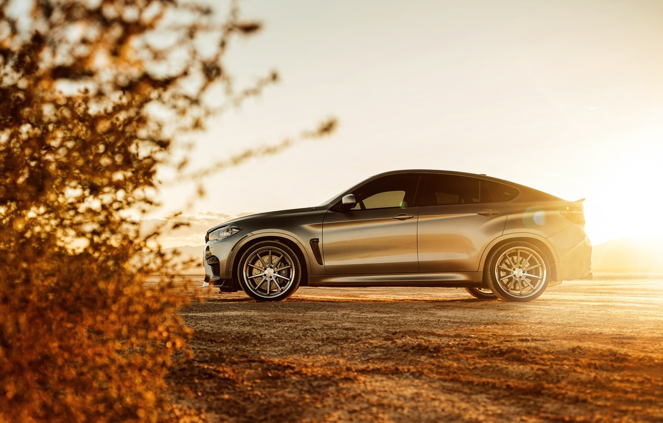Photo wallpaper nature, design, BMW X6M