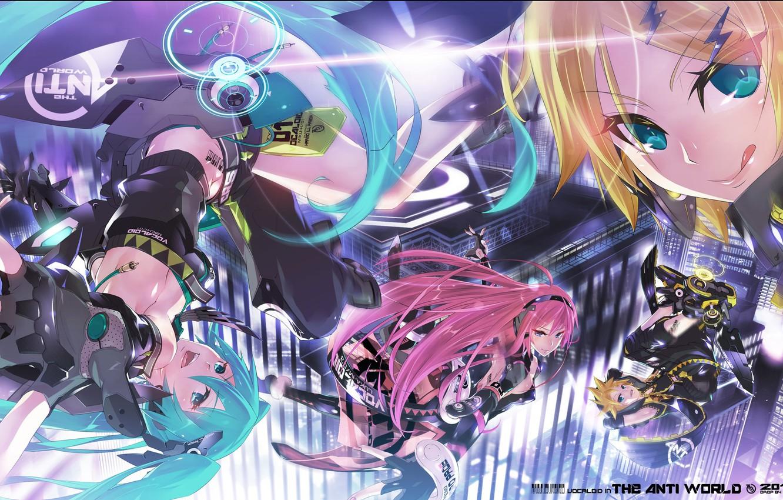 Wallpaper Anime Vocaloid Vocaloid Characters Kagamine Len