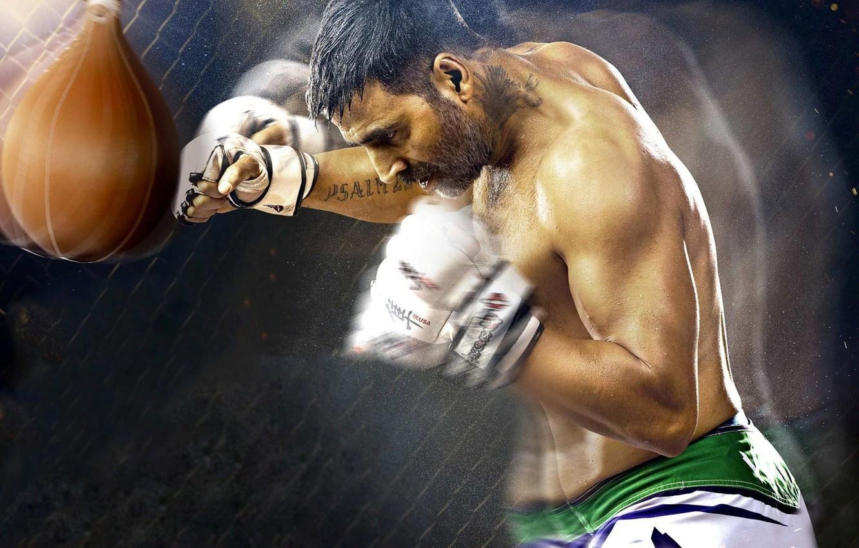 Photo wallpaper cinema, sport, fighter, man, movie, film, gloves, Brothers, boxe, Akshay Kumar