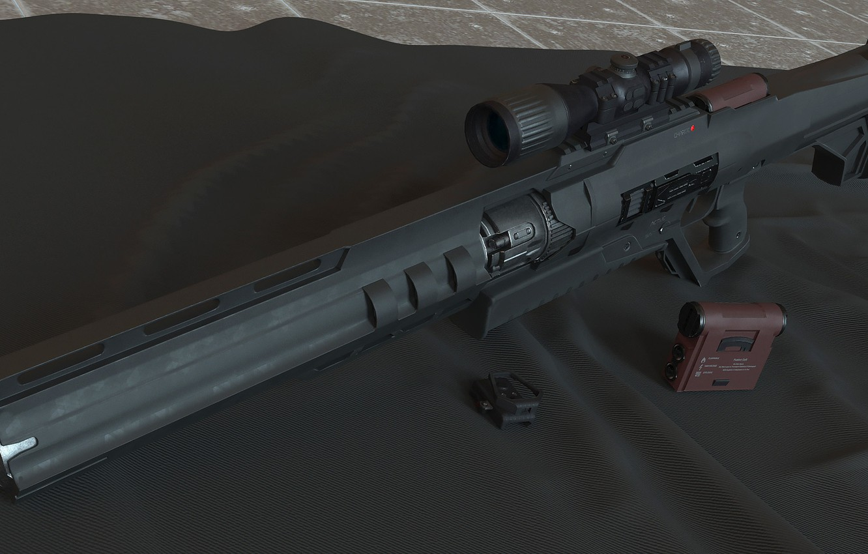 Photo wallpaper weapons, optics, rifle, weapon, sci-fi, rifle, optic, futuristic, futuristic