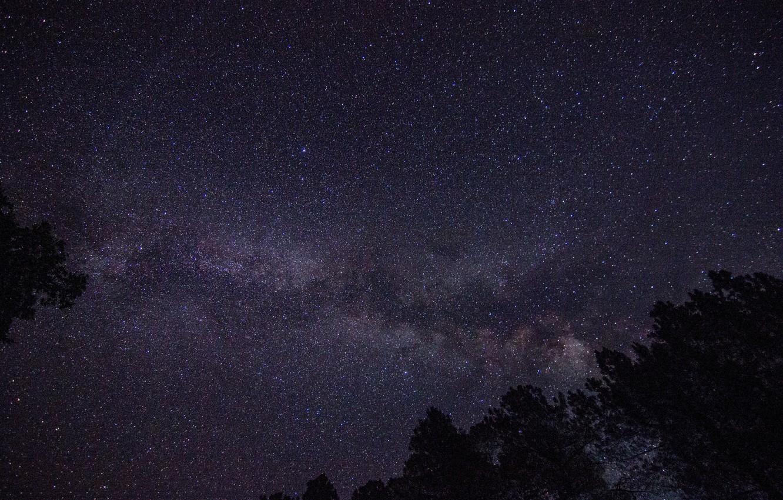 Photo wallpaper stars, night, the milky way