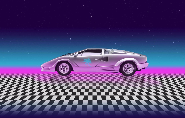 Wallpaper Auto Music Lamborghini Stars Neon Machine Background