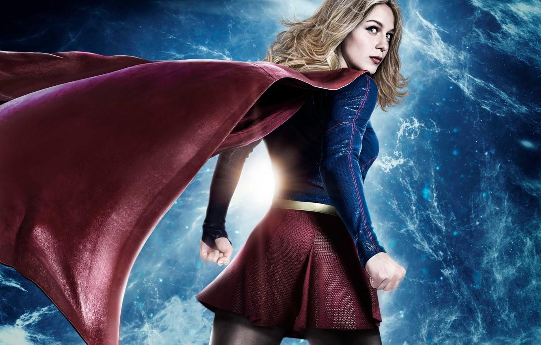 Photo wallpaper red, girl, logo, green eyes, dress, woman, blue, beautiful, singer, blonde, American, pose, actress, DC …