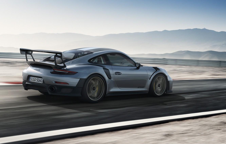 Photo wallpaper car, Porsche, speed, Porsche 911 GT2 RS