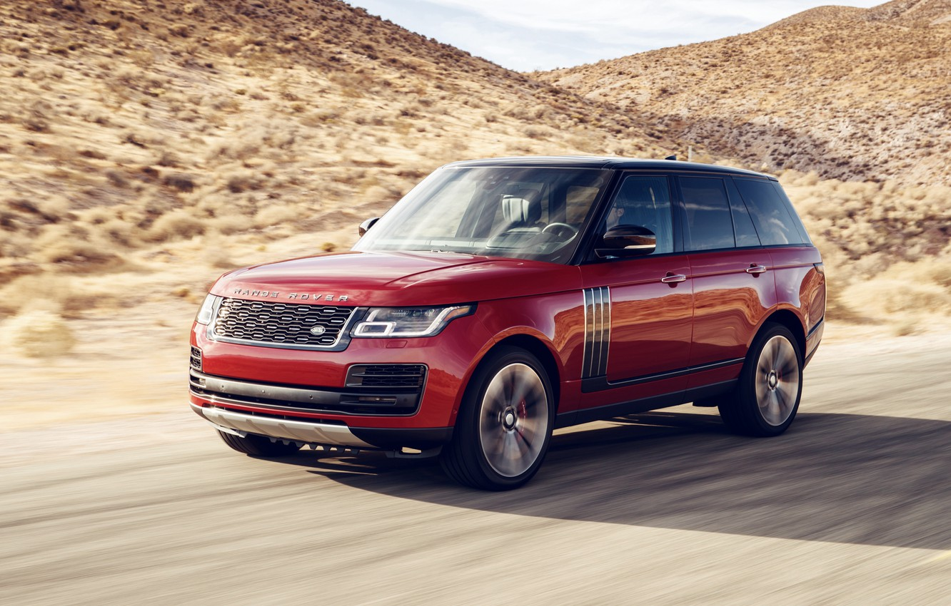 Photo wallpaper Land Rover, Range Rover, 2018, Dynamic, SVAutobiography