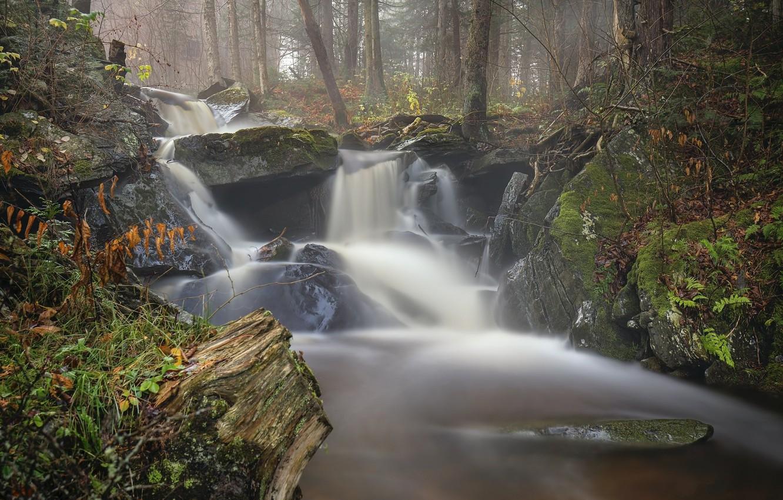 Photo wallpaper nature, waterfall, beauty