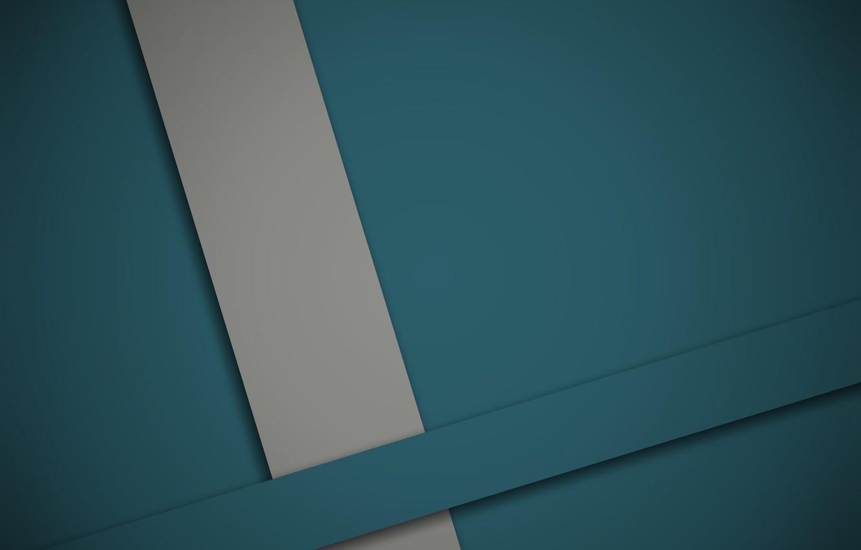 Photo wallpaper line, grey, blue, geometry, design, material