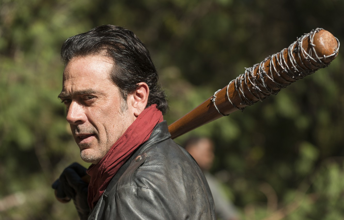 Wallpaper Baseball Bat Jeffrey Dean Morgan The Walking