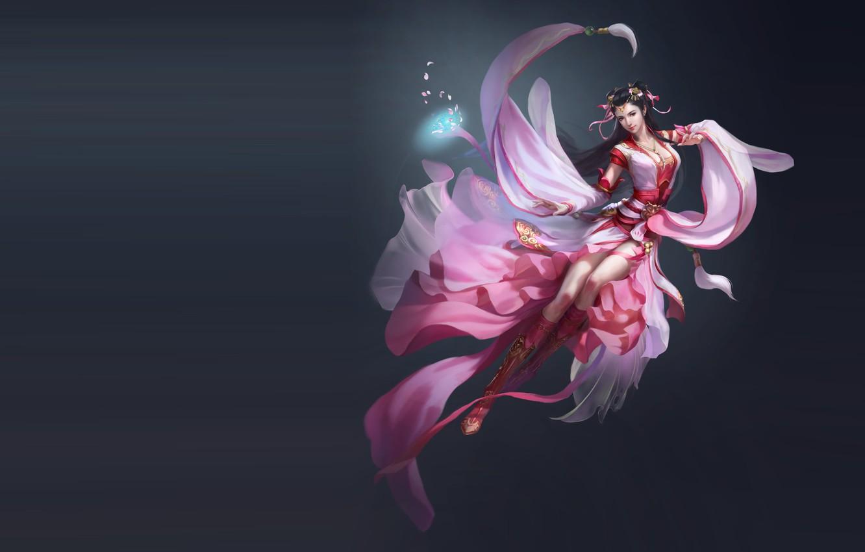 Photo wallpaper the game, fantasy, art, illustrator, work, Skil, costume design, li miao