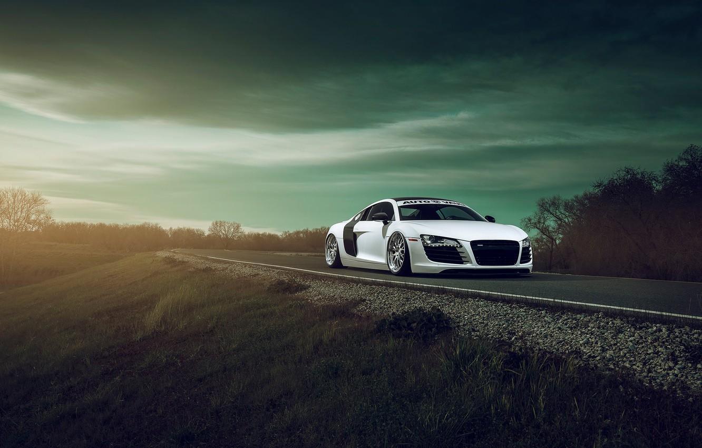 Photo wallpaper Audi, Front, Wheels, Aristo, Autovault