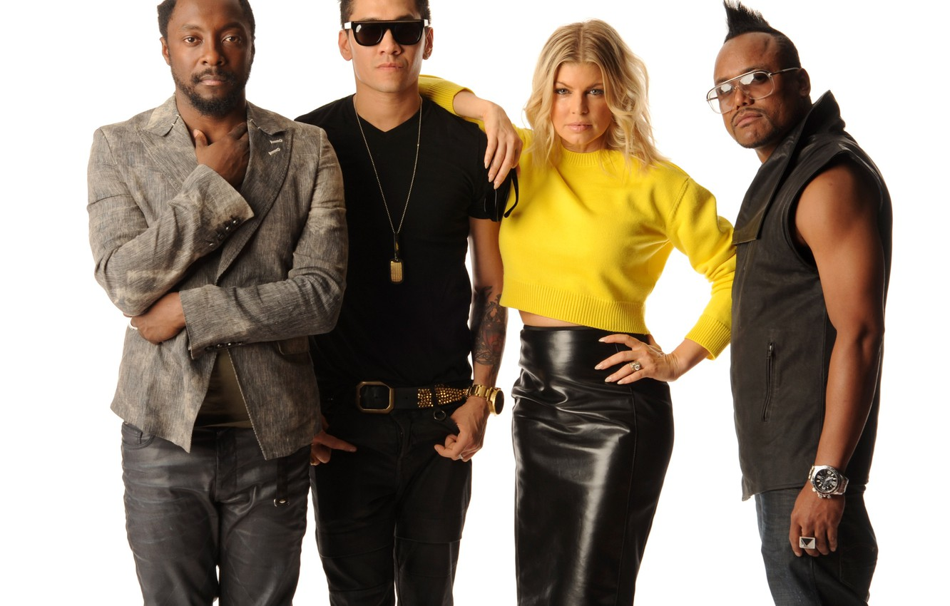 Photo wallpaper Fergie, Taboo, will.i.am, apl.of.ap, The Black Eyed Peas