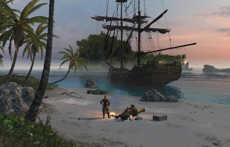 Photo wallpaper Assassins Creed, Ubisoft, Black Flag