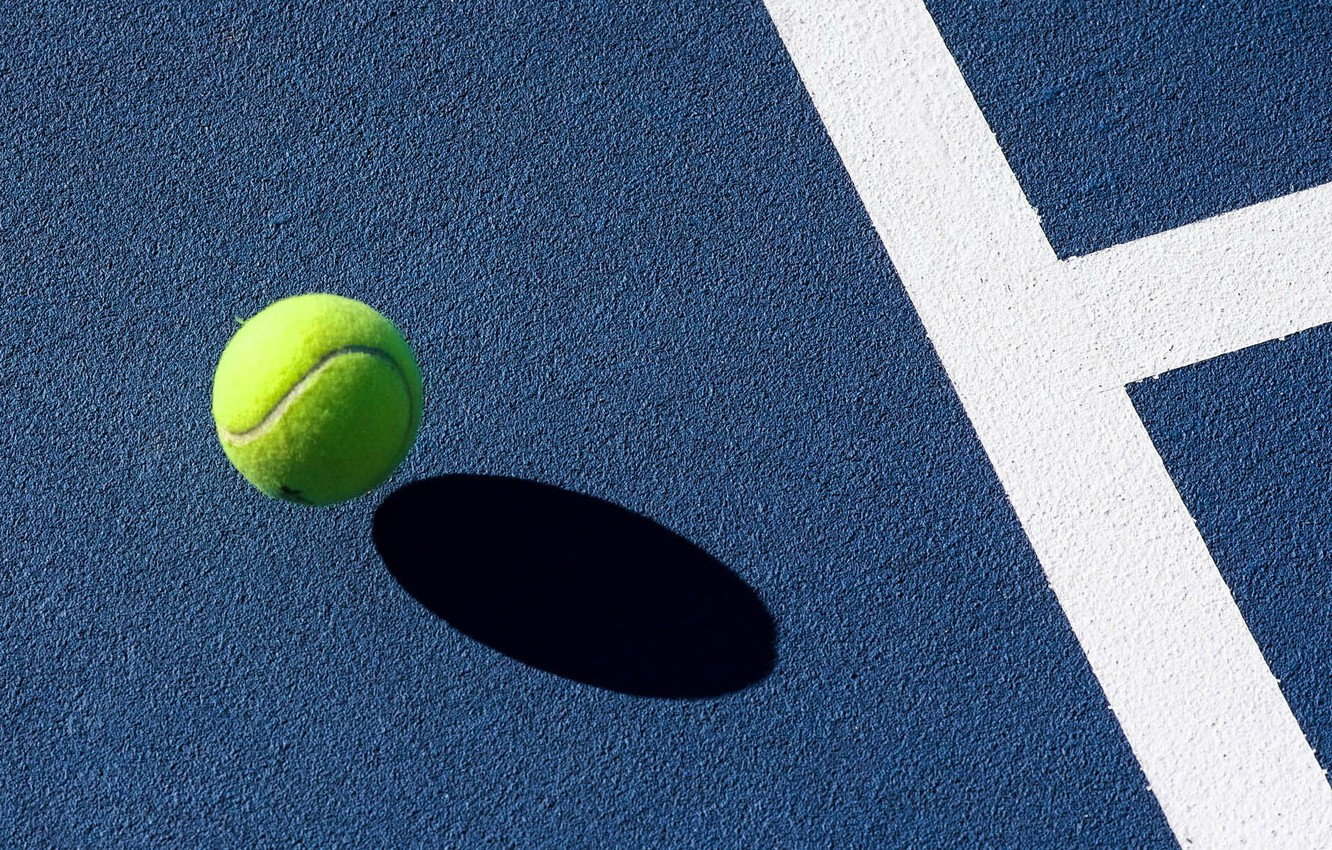 Wallpaper The Ball Tennis Court Images For Desktop Section Sport Download